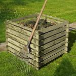 Häckslerschnittgut richtig kompostieren
