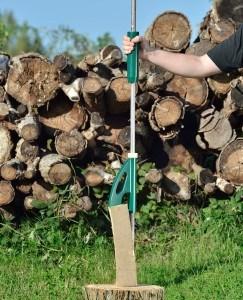 AGT Handholzspalter Hand-Holzspalter, Handbetrieb