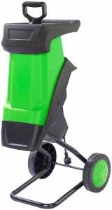 AGT Häcksler Elektrischer Gartenhäcksler mit Auffangbehälter