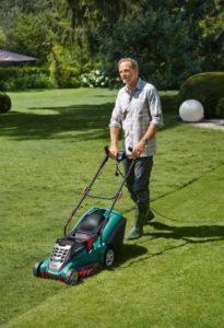 Bosch Rasenmäher Rotak 40 im Test